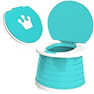 BTSEURY Training Toilet for Toddlers, Child Portable Potty,Portable Potty for Kids, Baby Potty Car Potty for T