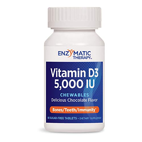 Enzymatic Therapy Vitamin D3 5,000IU Chewable