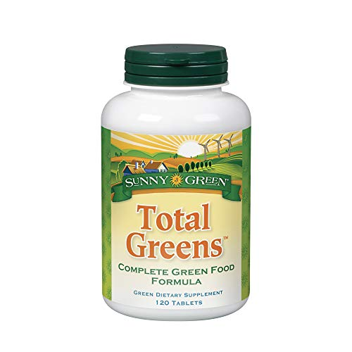 (Sunny Green Total Greens, 120 Tablets)