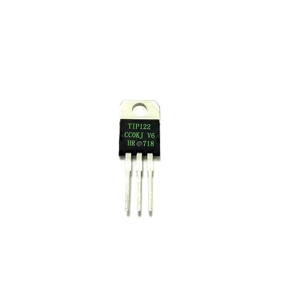 F Fityle Juego de Transistores Darlington Fuente de Alimentación del Amplificador de Potencia: Amazon.es: Bricolaje y herramientas