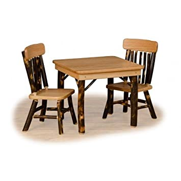 Amazon.com: Furniture Barn USA Rustic Hickory and Oak ...
