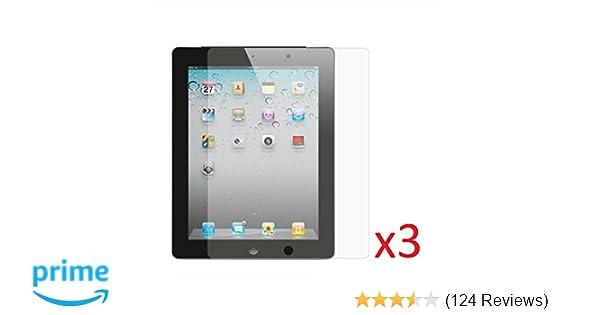 1st Gen. Clear Screen Films x3 HD Apple iPad Air 2 // iPad Air High Defintion