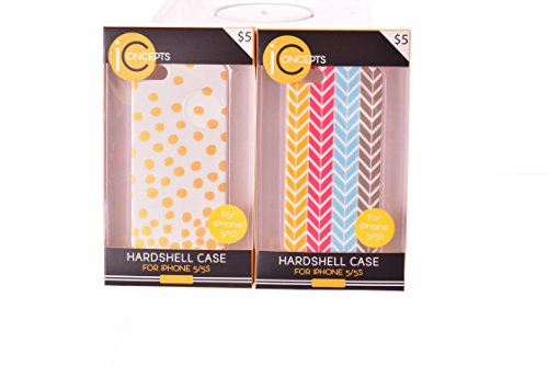 Iconcepts Iphone 5 5S Hardshell Covers Assorted  Pack Of 16