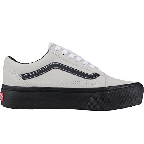 Vans Women's Old Skool Platform Trainers Light Grey wi2iBe