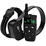 TBI Pro Professional Dog Training Collar with Remote - Long-Range 1600 feet - Flash, Vibration Control Modes, Rechargeable and Fully IPX7 Waterproof for Small, Medium, Large Dogs, All Breeds