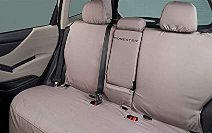 Subaru Forester Seat Covers >> Subaru 2019 Forester Rear Bench Seat Cover Polyester New J501ssj330 Genuine Oem