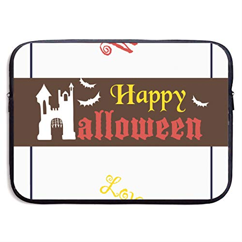 Cheer Happy Peanuts Halloween Witches Brew Trick R Treat,The Story of Halloween Graffiti 3D Print Laptop Sleeves 15 Inch