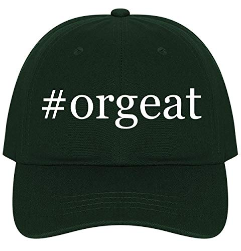 (The Town Butler #Orgeat - A Nice Comfortable Adjustable Hashtag Dad Hat Cap, Forest )