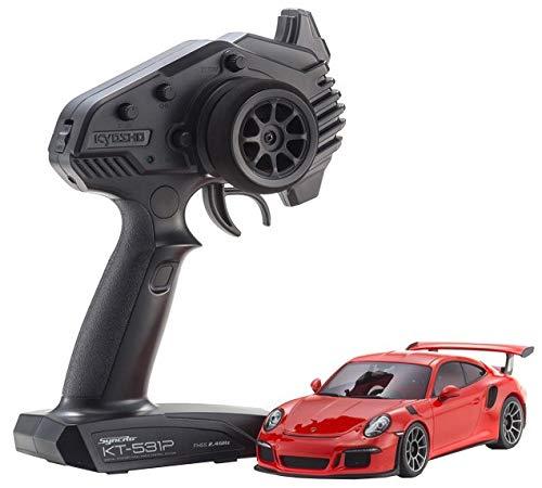 京商 ラジオコントロール 電動ツーリングカー ミニッツRWDシリーズ レディセット ポルシェ 911 GT3 RS ラバオレンジ 32321OR B07HP6PV52