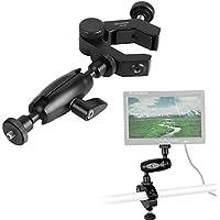 Flexible Magic Arm, Kingjue PPL-03+PPL-03B Dual-direction Adjustable Magic Arm with Universal Flexible Clamp for DSLR Camera Rig, LED Lights, Flash Lights