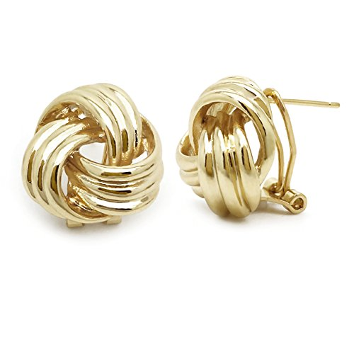 Design Omega Back Earrings - 1