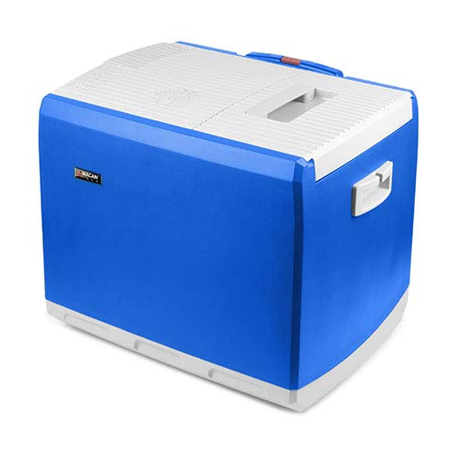 Wagan EL6244 Blue 46 Quart 12V Thermoelectric Cooler/Warmer Car Fridge (Best Place To Live During Global Warming)