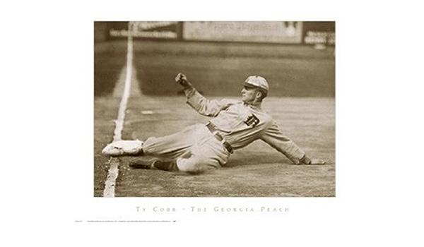 Amazon.com: Ty Cobb, the Georgia Peach - Poster (30 x 24): Prints: Posters  & Prints
