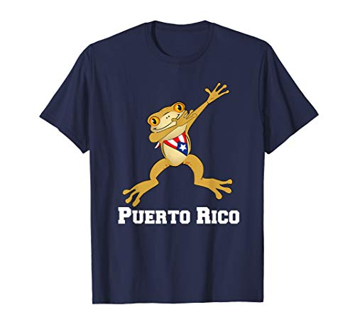 Dabbing Coqui Frog Puerto Rico Funny Gift - Frog Rico Puerto