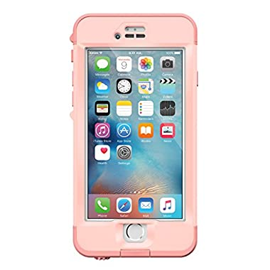 Lifeproof NÜÜD SERIES iPhone 6s Plus ONLY Waterproof Case (5.5  Version) - Retail Packaging - FIRST LIGHT (PINK JELLYFISH/CLEAR/SEASHELLS PINK)