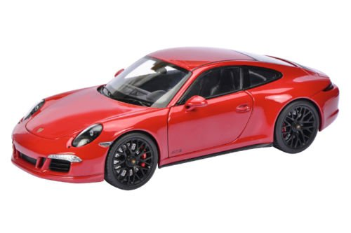 Porsche 911 Carrera GTS Coupe Red 1/18 by Schuco 450039000