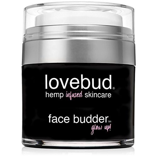 Lovebud Face Budder Anti-Aging Moisturizer For Face & Eye Area (For All Skin Types) with Hemp Oil, Aloe Vera, Vitamin B & E. Fights Appearance of Wrinkles & Fine Lines. Instantly Brightens Dull Skin. For Sale