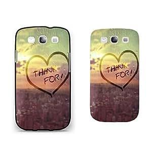 Cool Summer Sky Sunrise Series Samsung Galaxy S3 Case Cover Pretty Rain City Design Monogrammed Hard Phone Case Skin