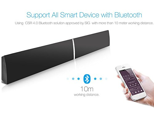 Lugulake Soundbar For Tv 39 Quot Wired And Wireless Bluetooth