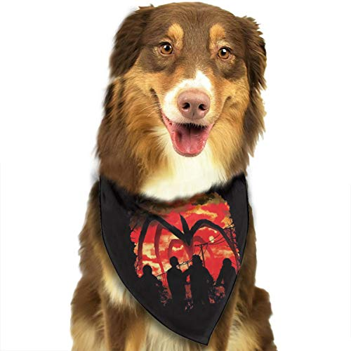 FRTSFLEE Dog Bandana Stranger Things Scarves Accessories Decoration for Pet Cats and Puppies