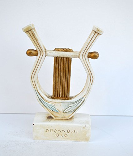 Apollo lyre sculpture statue artifact