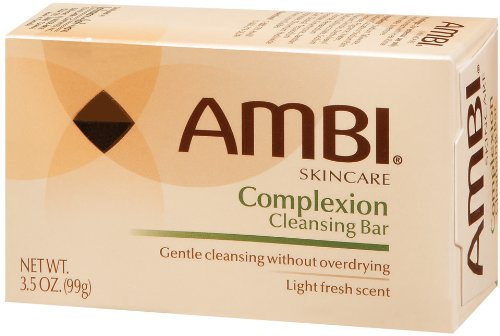 Ambi Skincare Bars Complexion Cleansing Bar, 3.5 Ounce (Pack of 6) by AMBI