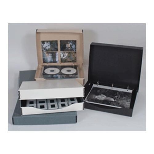 Archival Methods 6502 Three Ring Binder Box 12.25x13.25x1.5''