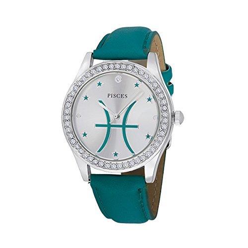 Unisex Crystal Zodiac Horoscope Watch - Pisces