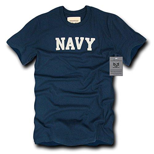 Navy Felt Applique T-shirt - 8