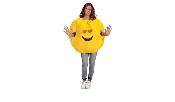 Carnival Toys - Disfraz emoticono amor en bolsa, talla única ...