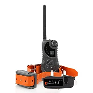 600 Yard Hunting/Sport Anti Bark Waterproof 2 - Dog Remote Training Shock Collar (AT-218)