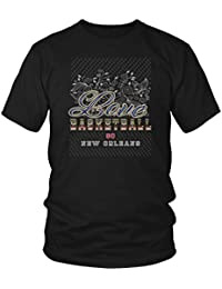 Love Basketball Go New Orleans Fan Gifts Diamond Plate Awesome Cool Men Tshirts