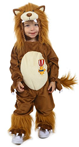 Wizard Of Oz Cowardly Lion Baby Costumes (Little Boys' Child Cowardly Lion Costume 18 Months/2T)