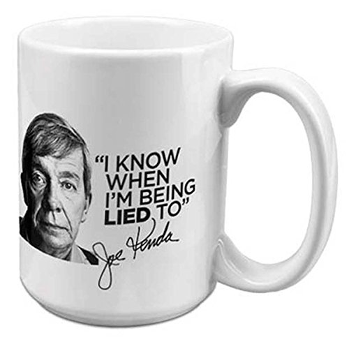 Homicide Hunter I Know Jumbo Mug - White (Channel Coffee Cup compare prices)