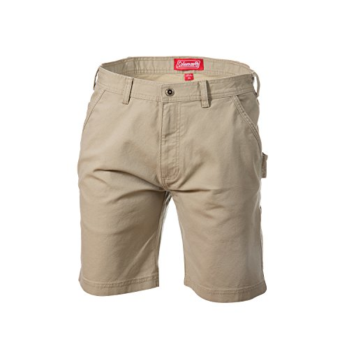 Coleman Stretch Canvas Work Shorts (36, Mountain (Cotton Canvas Work Shorts)