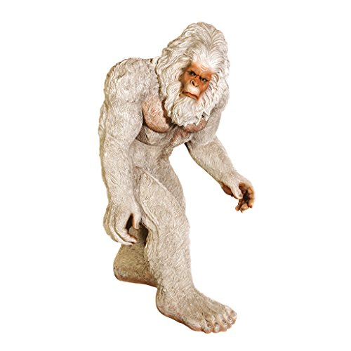Design Toscano The Abominable Snowman Yeti Statue, Life-Size (Lawn Gnome Costume)