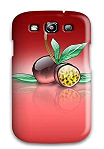 Willielissa Design High Quality Aqua Passion Fruit Cover Case With Excellent Style For Galaxy S3