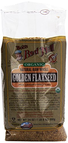 Organic Golden Flaxseed, 24 oz