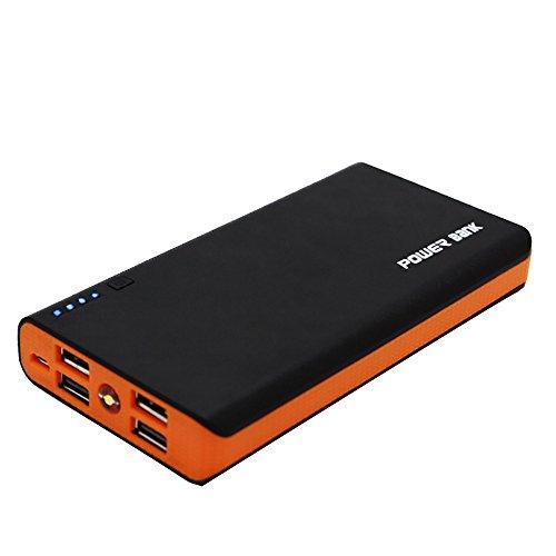cooljun Poular para teléfono nueva duradera carcasa de 2.1A 4usb banco de la energía 6x 18650cargador de batería DIY caja funda Kit naranja