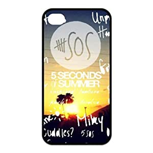Cover For Customizable iPhone 4/4S Case - 5 SecondSOS Designed by WCA
