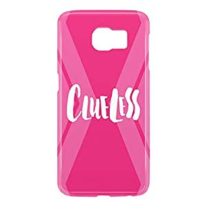 Loud Universe Samsung Galaxy S6 3D Wrap Around Clueless Print Cover - Pink