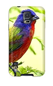 Fashionable Style Case Cover Skin For Galaxy S5- Bird