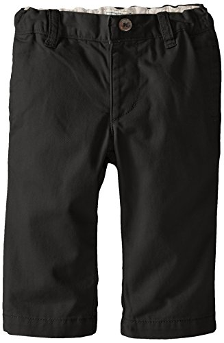 The Children's Place Baby Boys' Chino Pant, Black, 9-12 Months