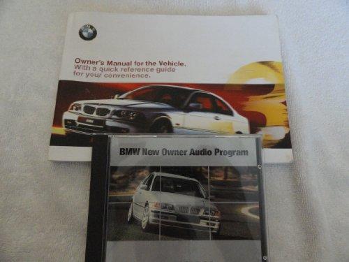 2000 BMW 323 328 Owners Manual 323Ci 328Ci Ci