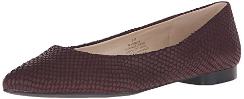 Leather B West 43 M EU Flat B M Women's UK 5 9 Nine Ballet Onlee Vino t48aa