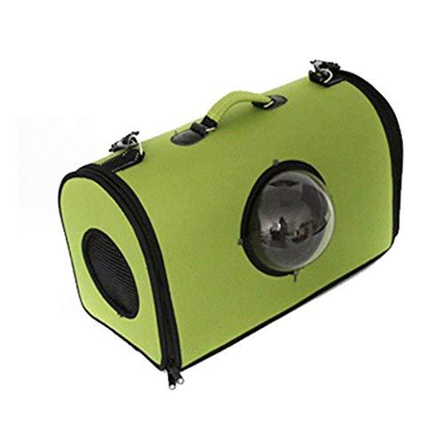 FinGo Zaino portaoggetti con Finestra di visualizzazione Design Capsula Spaziale per Cani di Piccola Taglia e Gatti Trasportino Animali Domestici Traspirante