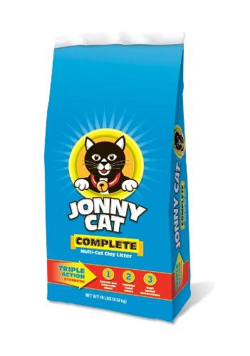 Jonny Cat Complete Multi-Cat Clay Litter Bag, 10-Pound, My Pet Supplies