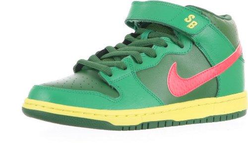 Nike Dunk Mid Pro SB mens skateboarding-shoes 314383-363_4 - Atomic Red