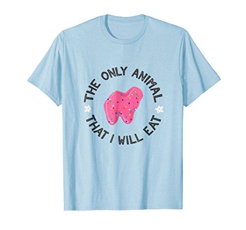 The Only Animal I Will Eat Funny Vegan Animal Cracker ()