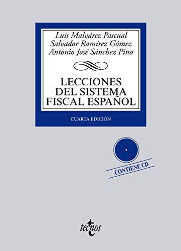 Descargar Libro Lecciones Del Sistema Fiscal Español Luis A. Malvárez Pascual